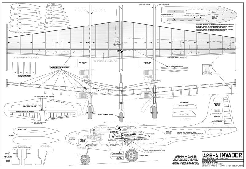 a26 plan sheet sm flying scale models. Black Bedroom Furniture Sets. Home Design Ideas